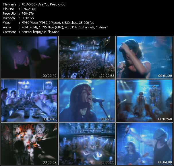 AC / DC - Are You Ready MP3 Download and Lyrics
