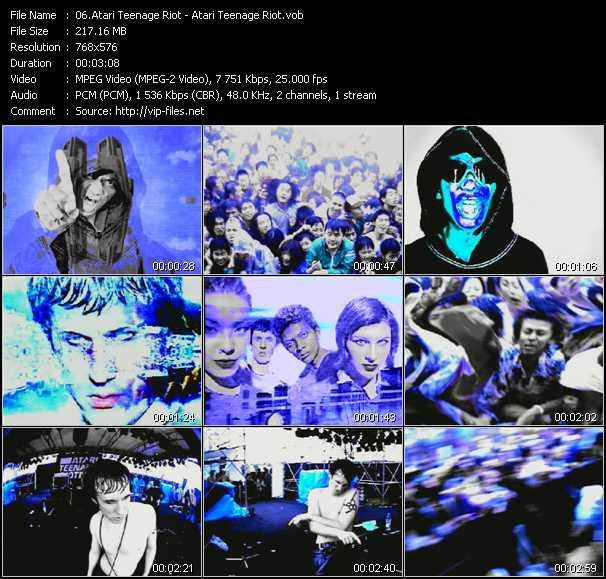 Screenshot of Music Video Atari Teenage Riot - Atari Teenage Riot