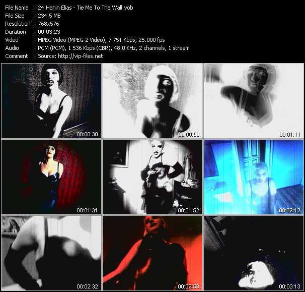Screenshot of Music Video Hanin Elias - Tie Me To The Wall