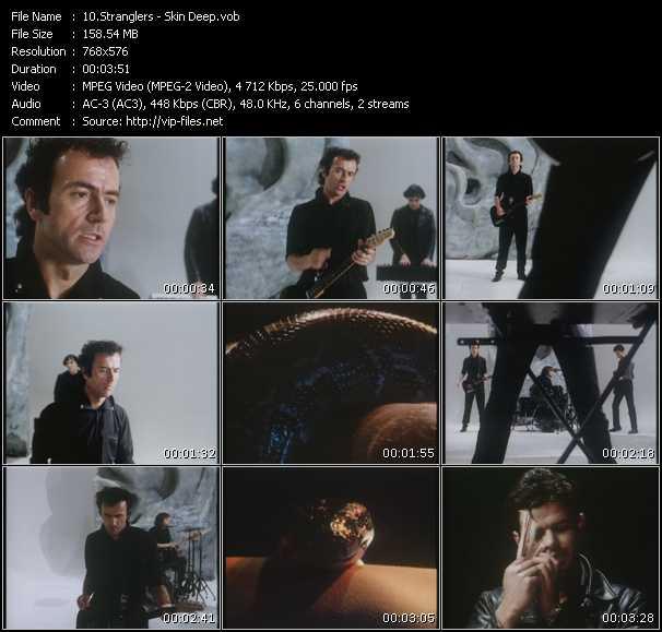 Screenshot of Music Video Stranglers - Skin Deep