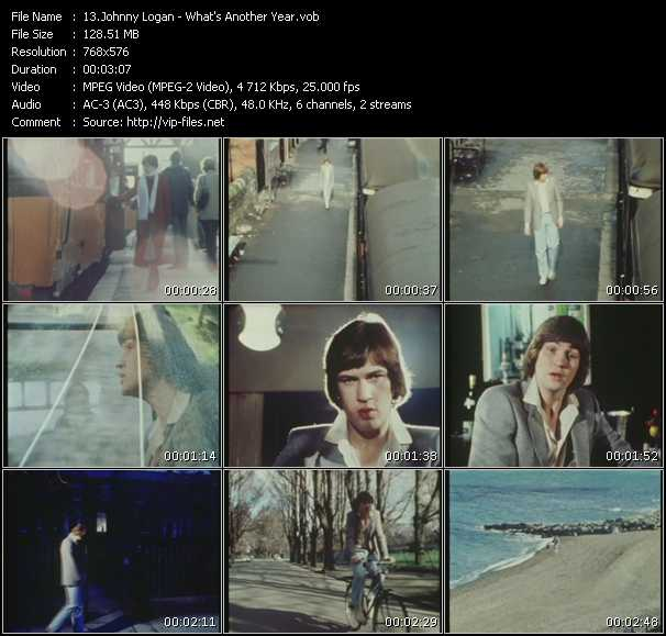 Screenshot of Music Video Johnny Logan - What's Another Year