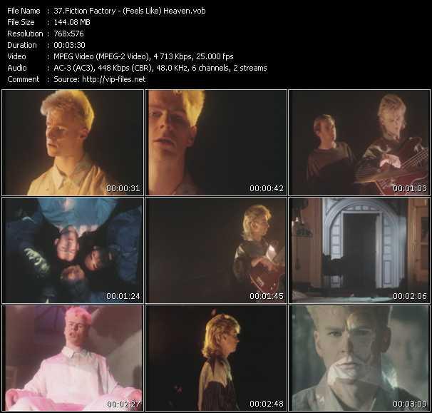 Screenshot of Music Video Fiction Factory - (Feels Like) Heaven