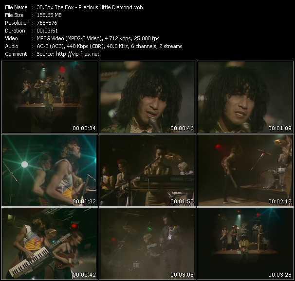 Screenshot of Music Video Fox The Fox - Precious Little Diamond