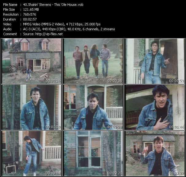 Screenshot of Music Video Shakin' Stevens - This 'Ole House