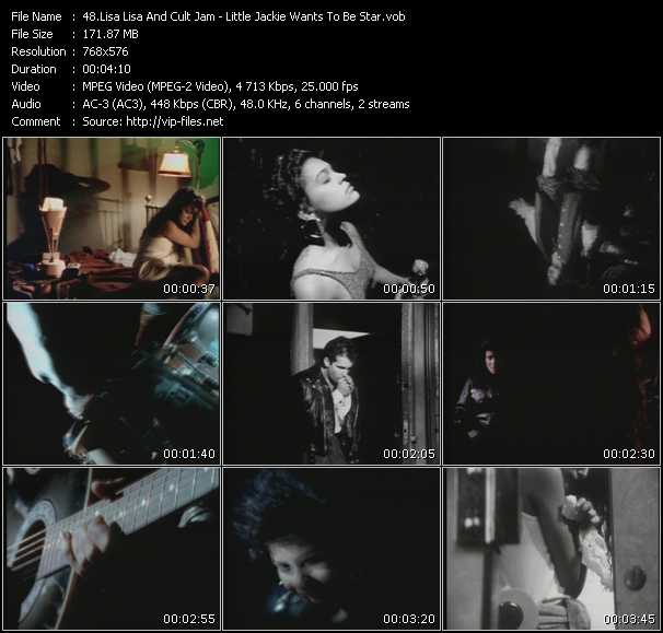 Screenshot of Music Video Lisa Lisa And Cult Jam - Little Jackie Wants To Be A Star