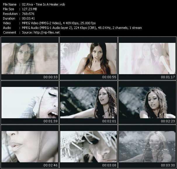 Screenshot of Music Video RIVA - Time Is A Healer