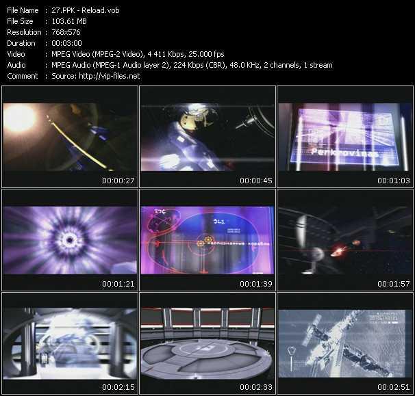Screenshot of Music Video PPK - Reload