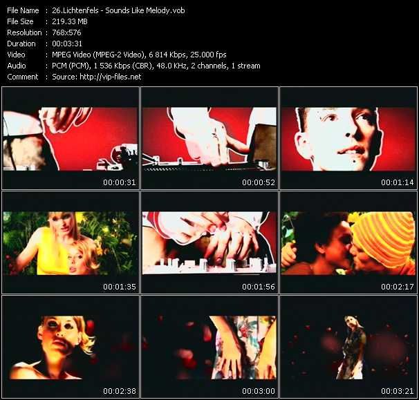 Screenshot of Music Video Lichtenfels - Sounds Like Melody
