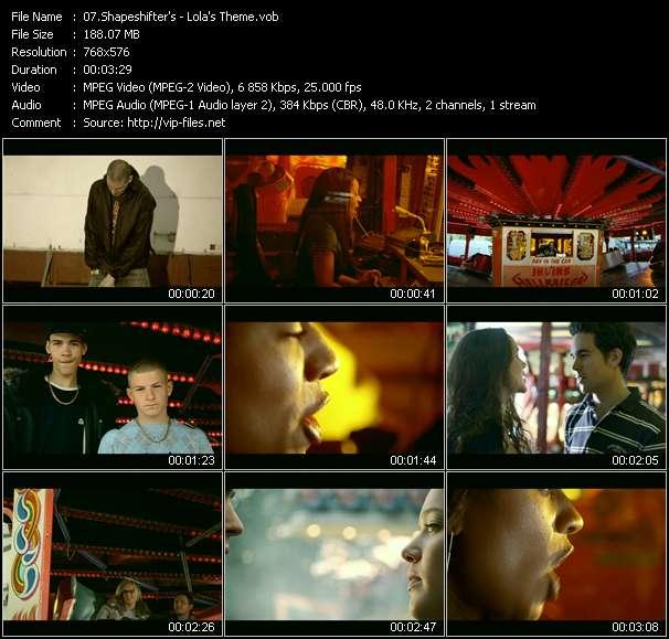 Screenshot of Music Video Shapeshifters (Shape: UK) - Lola's Theme