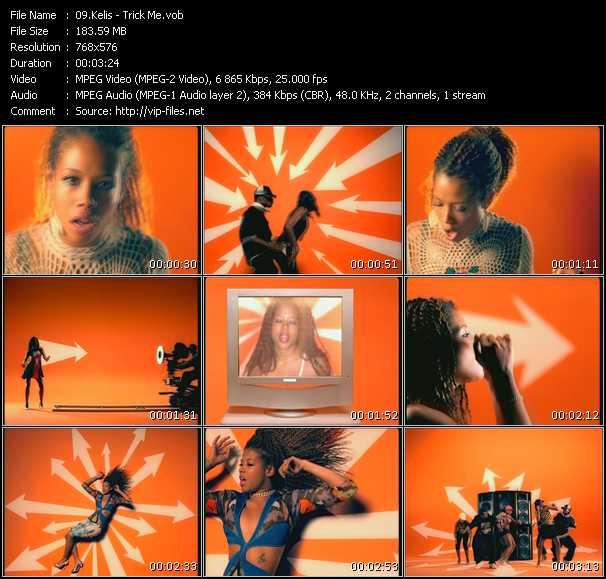 Screenshot of Music Video Kelis - Trick Me