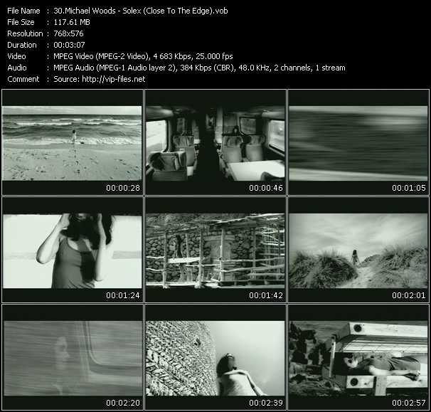 Screenshot of Music Video Michael Woods - Solex (Close To The Edge)