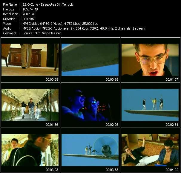 Screenshot of Music Video O-Zone - Dragostea Din Tei