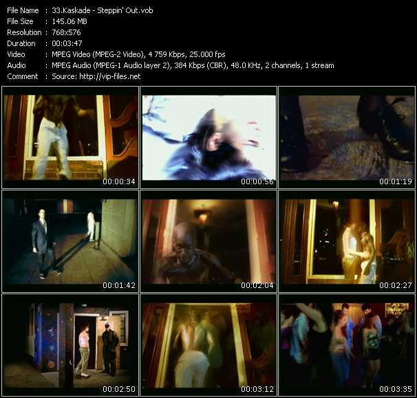 Screenshot of Music Video Kaskade - Steppin' Out