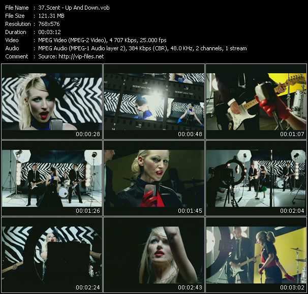 Screenshot of Music Video Scent - Up And Down