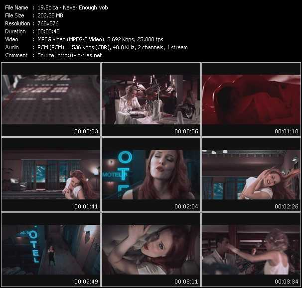 Epica video vob