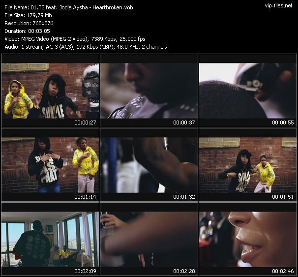 T2 Feat. Jodie Aysha video vob