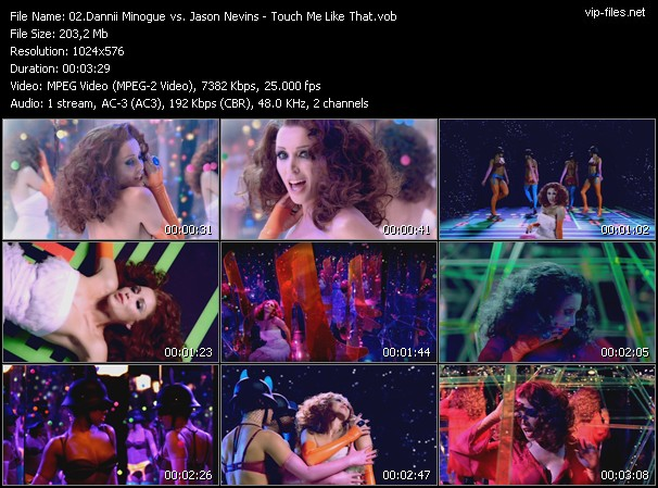 Dannii Minogue Vs. Jason Nevins video vob