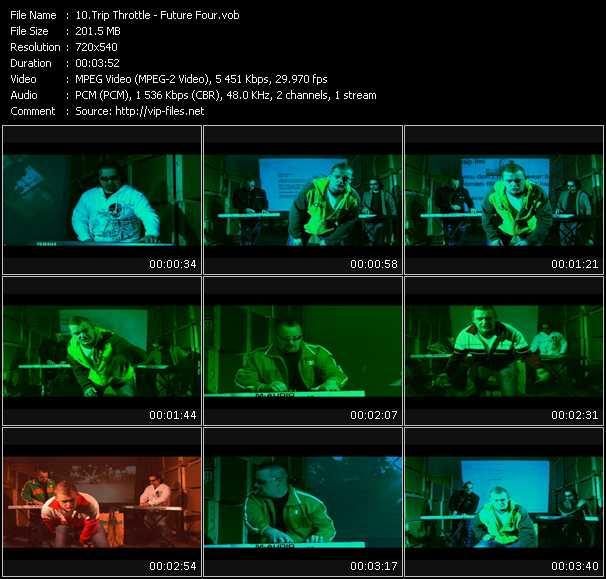 Screenshot of Music Video Trip Throttle - Future Four