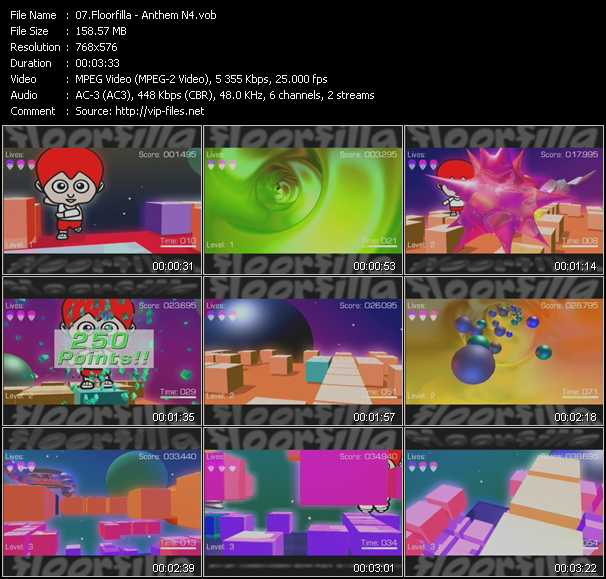 Screenshot of Music Video Floorfilla - Anthem N4
