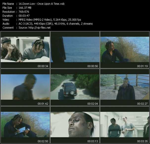 Screenshot of Music Video Down Low - Once Upon A Time