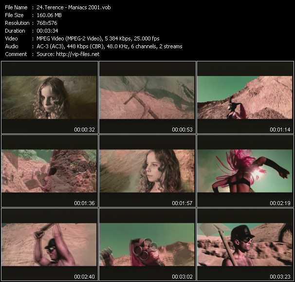 Screenshot of Music Video Terence - Maniacs 2001