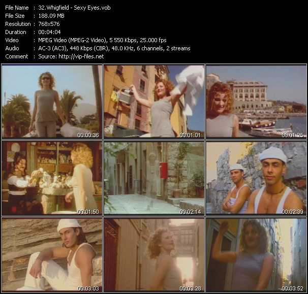 Screenshot of Music Video Whigfield - Sexy Eyes