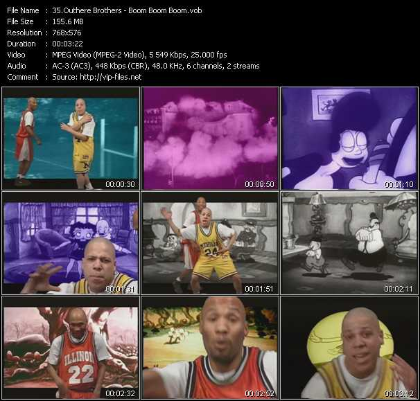 Screenshot of Music Video Outhere Brothers - Boom Boom Boom