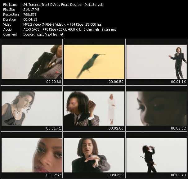 Terence Trent D'Arby Feat. Des'ree video vob