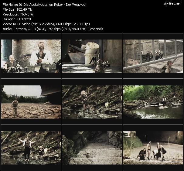 Die Apokalyptischen Reiter video vob