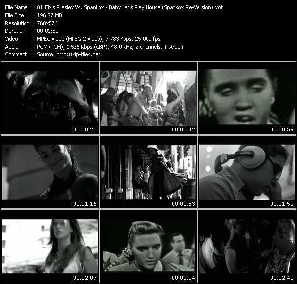 Elvis Presley Vs. Spankox video vob