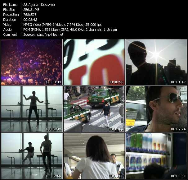 Screenshot of Music Video Agoria - Dust
