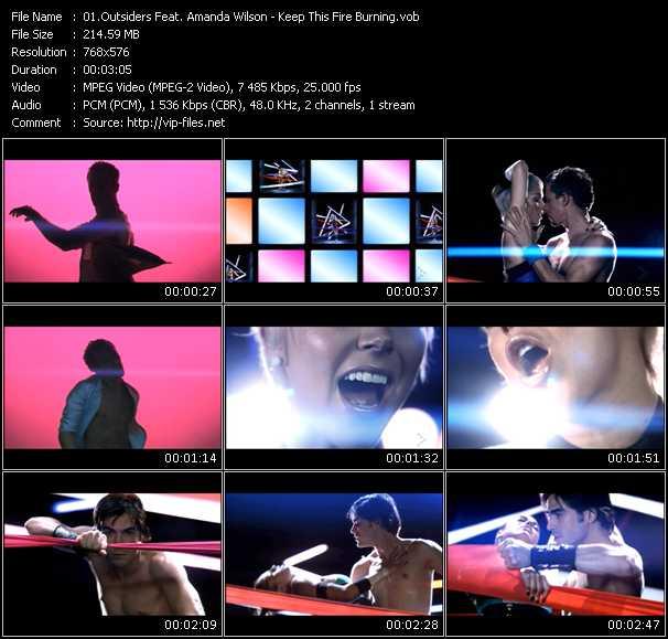 Outsiders Feat. Amanda Wilson video vob