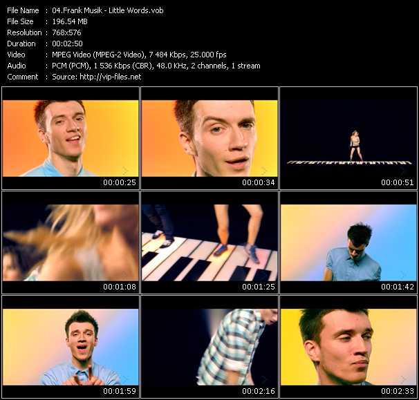 FrankMusik video vob
