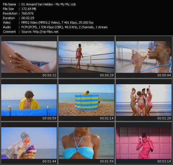 Screenshot of Music Video Armand Van Helden - My My My