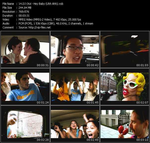 Screenshot of Music Video Dj Otzi - Hey Baby (Uhh Ahh)