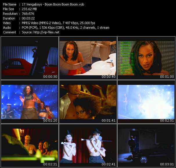 Screenshot of Music Video Vengaboys - Boom Boom Boom Boom