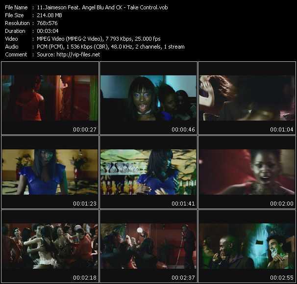 Screenshot of Music Video Jaimeson Feat. Angel Blu And CK - Take Control