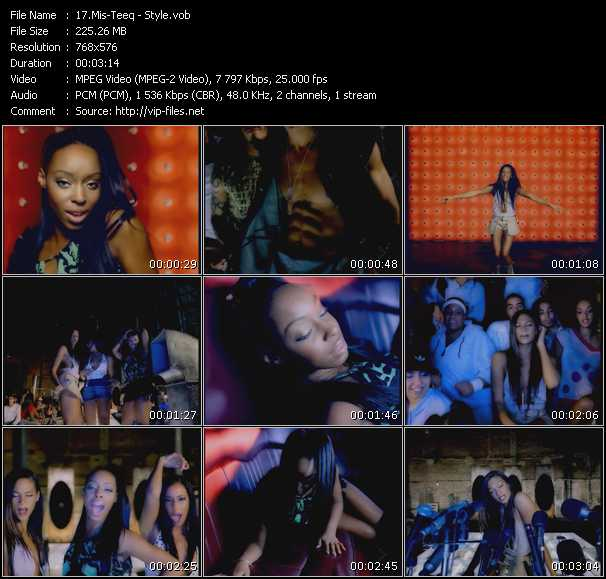 Screenshot of Music Video Mis-Teeq - Style