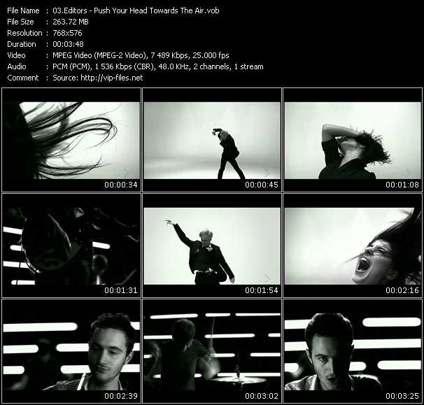 Screenshot of Music Video Editors - Push Your Head Towards The Air