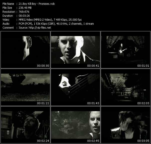 Screenshot of Music Video Boy Kill Boy - Promises