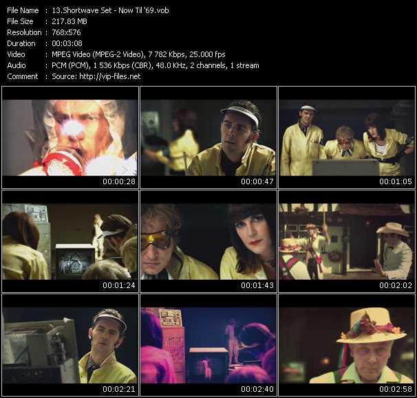 Screenshot of Music Video Shortwave Set - Now Til '69
