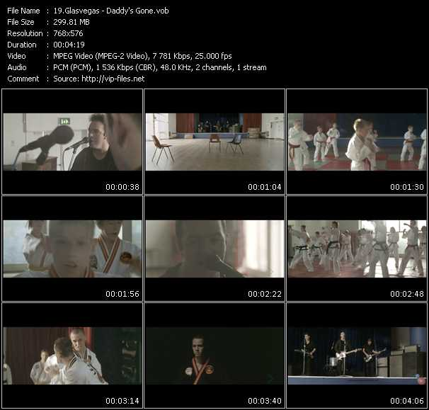 Screenshot of Music Video Glasvegas - Daddy's Gone