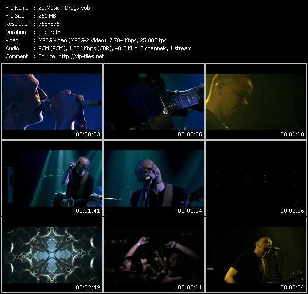Screenshot of Music Video Music - Drugs