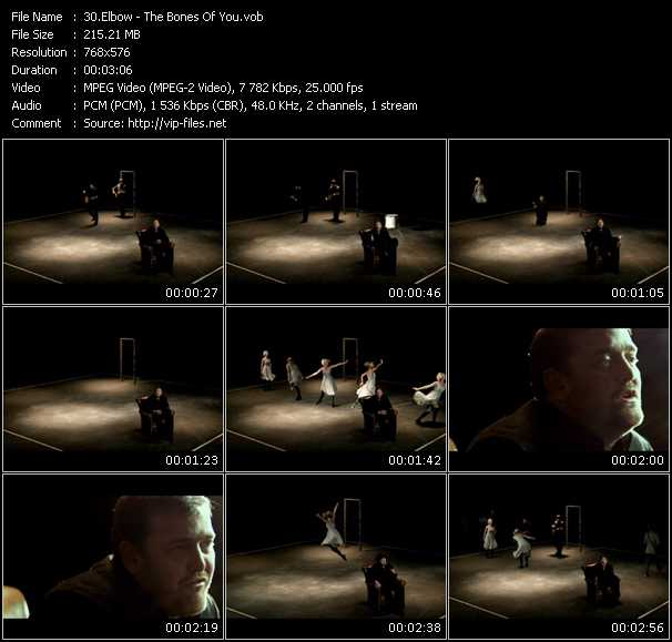 Screenshot of Music Video Elbow - The Bones Of You