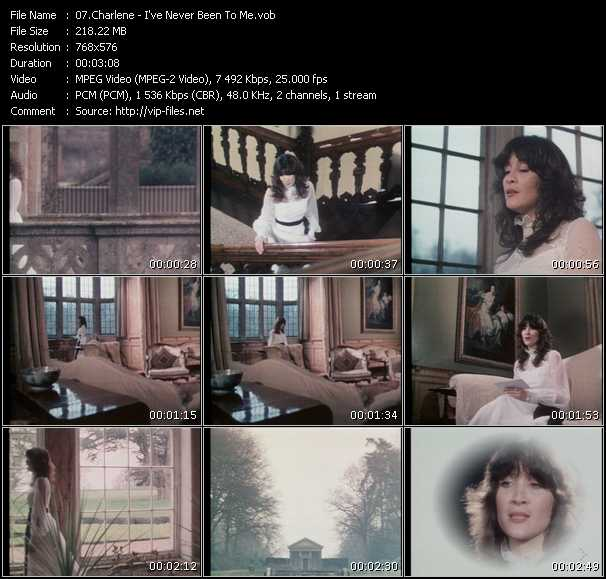 Screenshot of Music Video Charlene - I've Never Been To Me