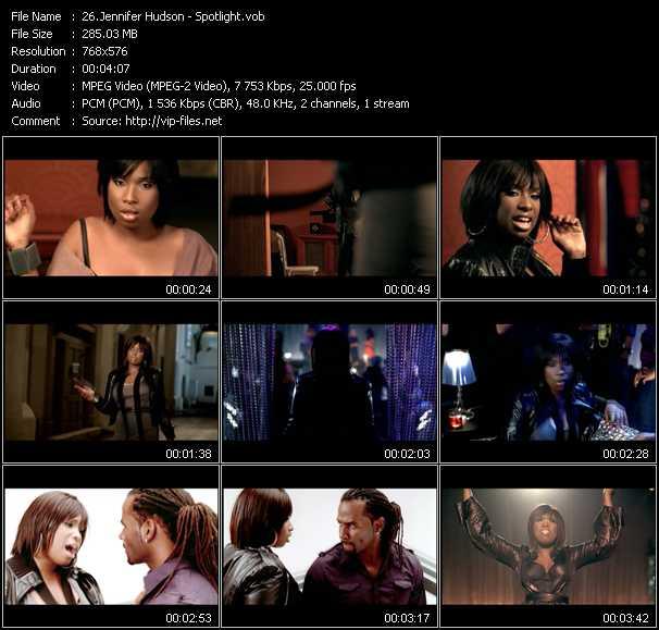 Jennifer Hudson видеоклип vob