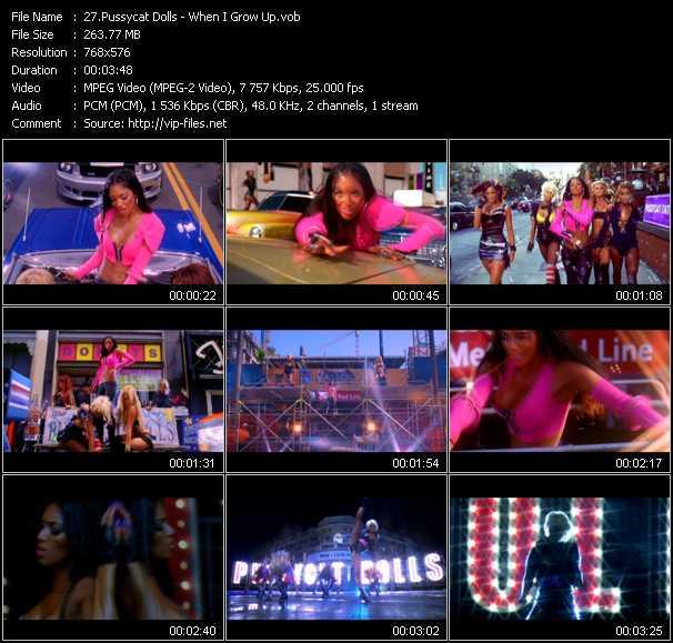 Pussycat Dolls видеоклип vob