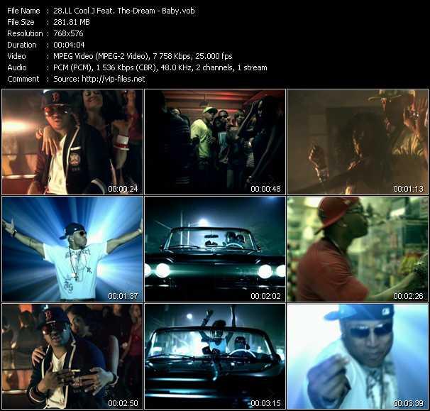 LL Cool J Feat. The-Dream видеоклип vob
