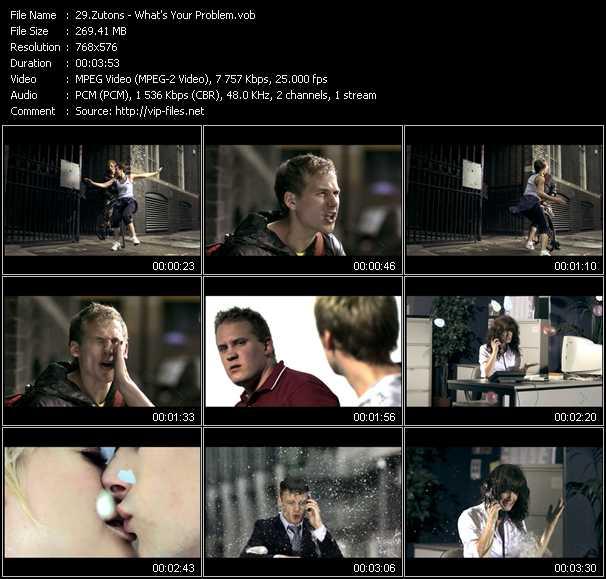 Zutons видеоклип vob