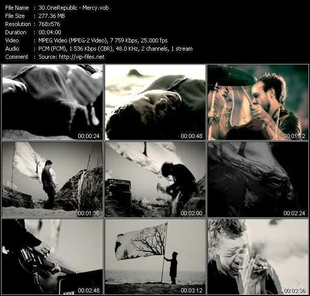 OneRepublic видеоклип vob